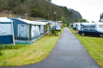 Camping Sanpedro de la Ribera Asturias